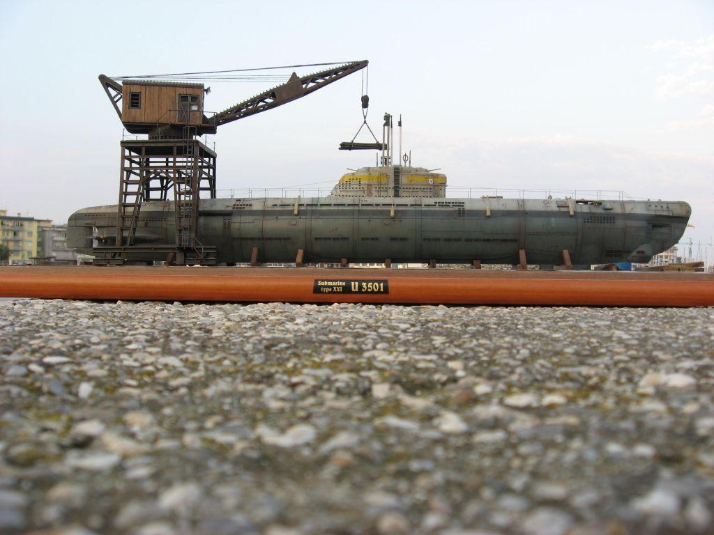 u boot type xxi elektroboat u 3501 scale model