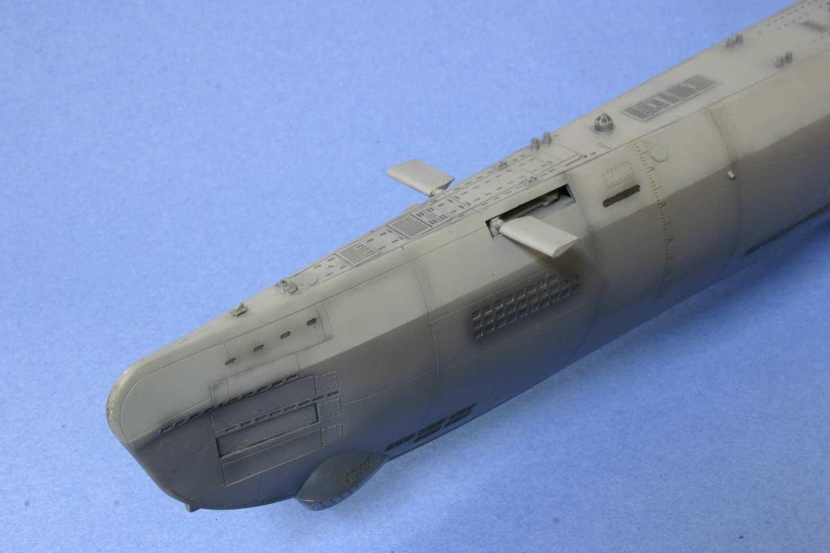 u boat type xxi elektroboat u 3504 scale model