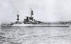 HMS Courageous Battle Cruiser