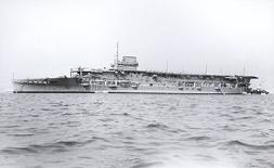HMS Courageous Aircraft Carrier