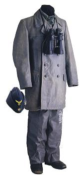 Weather jacket and trousers