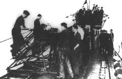 U-511 fitted with rockets