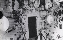 U-boat Electric engine room
