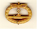 U-boat Badge with Diamonds