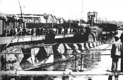 Italian archimedes u-boat.
