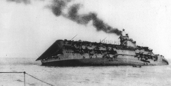 September 17 1939, HMS Courageous torpedoed by U-29, The first Royal Navy aircraft...