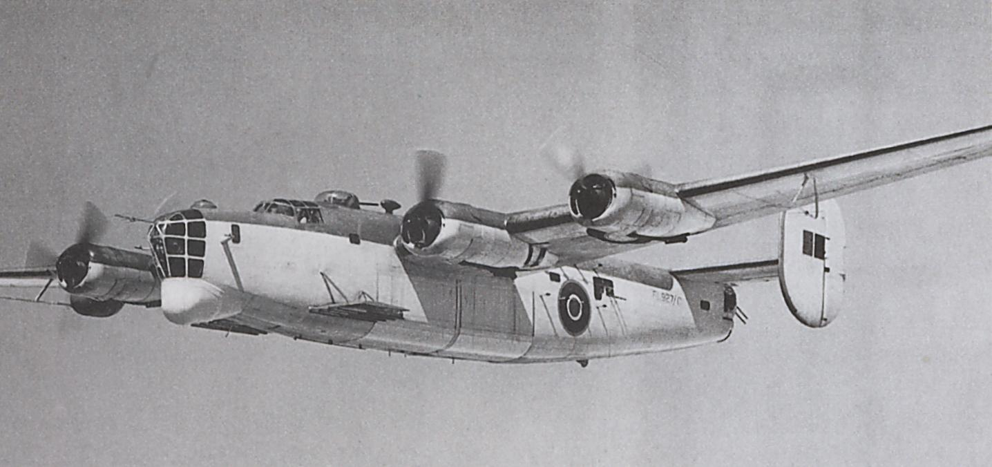 This Liberator GR V is a U-boat's worst enemy. Equipped with airborne Mk III radar...