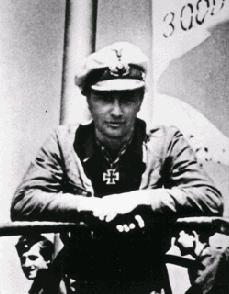 """Korvettenkapitan Johannes Mohr, commander of the """"Edelweiss Boat"""" U-124..."""