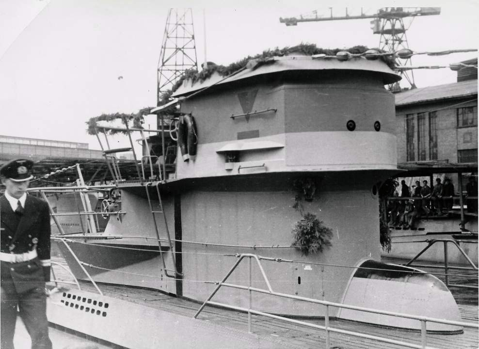 Connning tower of a Type VIIC U-Boat.