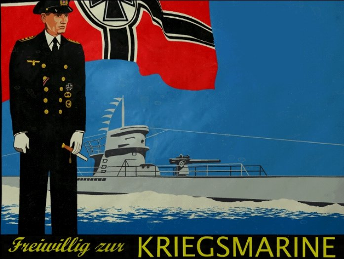 U-boat propaganda picture
