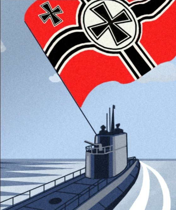 U-boat propaganda picture 2