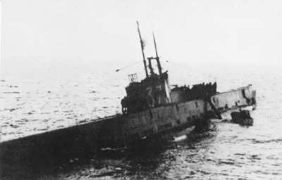 This is HMS Seal captured at sea on May 05, 1940 by Ar196 seaplanes, commissioned in Jan 28, 1939