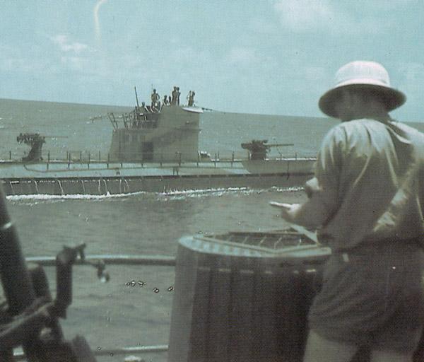 U-160 from U-177,19 apr 1943,pic II