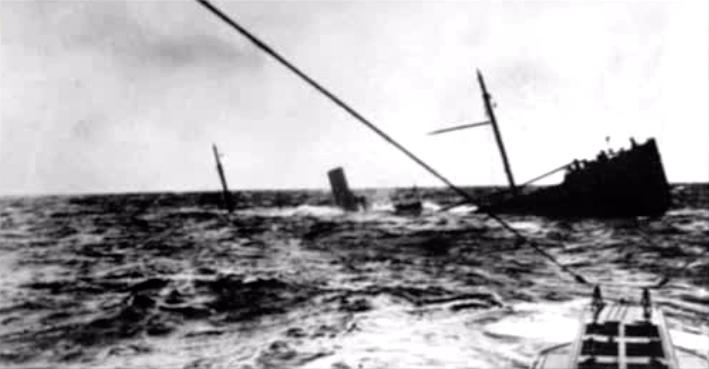 U-BOAT VICTIM.