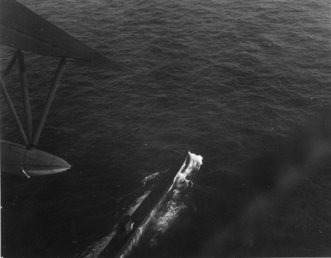 U-199 Fly over
