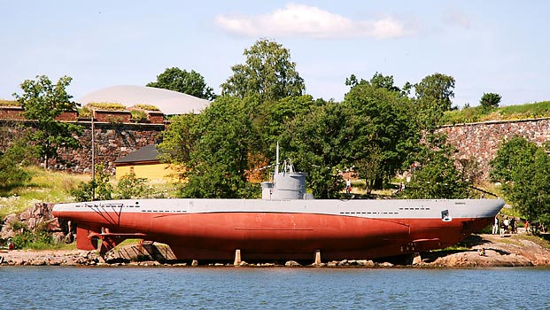 This is a Type IIA u-boat, which is now the Finnish Vesikko museum ship.