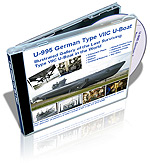 U-995 German Type VIIC U-Boat Illustrated Gallery Revised Edition DVD